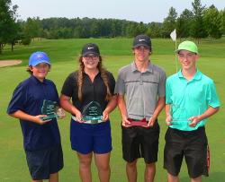 Tippin wins overall junior title