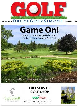 Summer Edition - Golf BruceGreySimcoe magazine